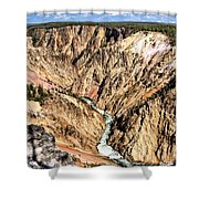 Grand Canyon Of The Yellowstone 1 Shower Curtain