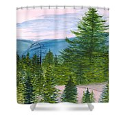 Grand Canyon Of West Virginia Shower Curtain