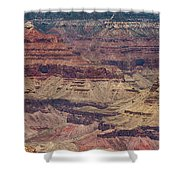 Grand Canyon Orphan Mine Shower Curtain by Susan Rissi Tregoning