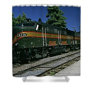 Grand Canyon Railway Train Shower Curtain