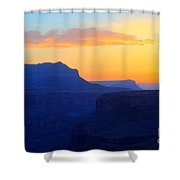 Grand Canyon Sunrise At Toroweap Shower Curtain