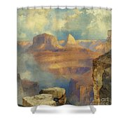 Grand Canyon Shower Curtain by Thomas Moran