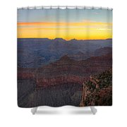 Grand Canyon Twilght Shower Curtain