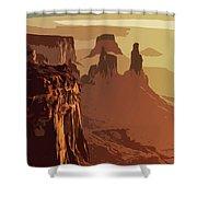 Grand Canyon - Usa Shower Curtain