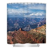 Grand Canyon View 1 Shower Curtain