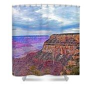 Grand Canyon Village Panorama Shower Curtain