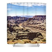 Grand Canyon West Rim Shower Curtain