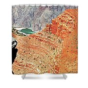 Grand Canyon36 Shower Curtain