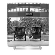 Grand Carriages Shower Curtain