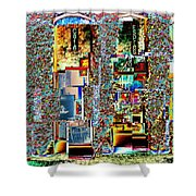 Grand Central Bakery 1 Shower Curtain