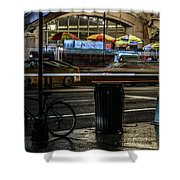 Grand Central Terminalfood Carts Shower Curtain