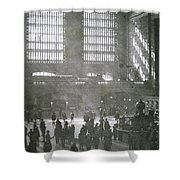 Grand Central Station, New York City, 1925 Shower Curtain