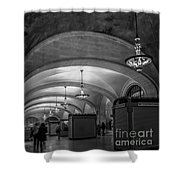 Grand Central Terminal - Arched Corridor Shower Curtain