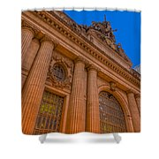 Grand Central Terminal - Chrysler Building Shower Curtain
