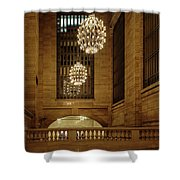 Grand Central Terminal Light Reflections Shower Curtain
