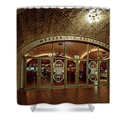 Grand Central Terminal Oyster Bar Shower Curtain