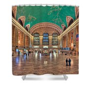 Grand Central Terminal V Shower Curtain