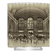 Grand Central Terminal Vintage Shower Curtain