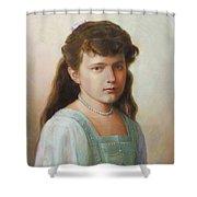 Grand Duchess Anastasia Nikolaevna Of Russia Shower Curtain