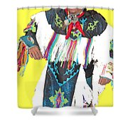 Grand Entry-5 Shower Curtain