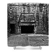 Grand Fireplace Shower Curtain