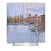 Grand Hotel Kempinski V4 Shower Curtain