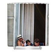 Grand Hotel Minerva Shower Curtain