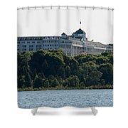 Grand Hotel On Mackinac Island Shower Curtain