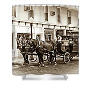 Grand Hotel Shuttle 10331 Shower Curtain