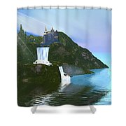Grand Illusion Shower Curtain