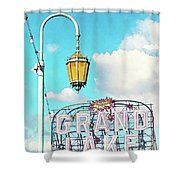 Grand Lake Merritt - Oakland, California Shower Curtain