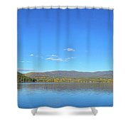 Grand Lake View From Shore Shower Curtain