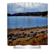 Grand Mesa Lake Shower Curtain