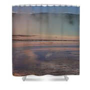 Grand Prismatic In Yellowstone Park Shower Curtain