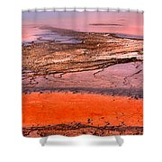 Grand Prismatic Panoramic Abstract Shower Curtain