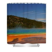 Grand Prismatic Pool II Shower Curtain