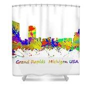 Grand Rapids  Michigan Usa Shower Curtain
