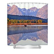 Grand Reflections Shower Curtain