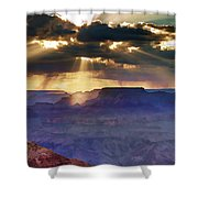 Grand Sunlight Shower Curtain