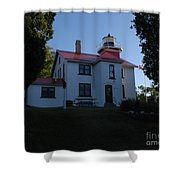Grand Traverse Light House Shower Curtain