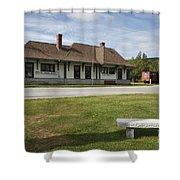 Grand Trunk Railroad - Gorham New Hampshire Shower Curtain