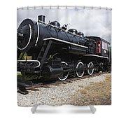 Grand Trunk Railroad - Gorham New Hampshire Usa Shower Curtain