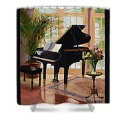 Grand View By Marilyn Nolan- Johnson Shower Curtain