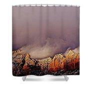 Grand View Of Sedona,arizona Shower Curtain