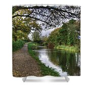Grand Western Canal At Crown Hill Shower Curtain