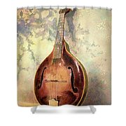 Grandaddy's Mandolin Shower Curtain