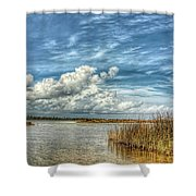 Grande Lagoon  Shower Curtain