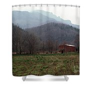 Grandfather Mountain Shower Curtain
