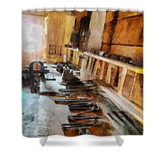 Grandfather's Tools Shower Curtain