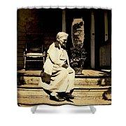 Grandma Jennie Shower Curtain